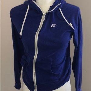 Nike cobalt blue hoodie . Women's size M
